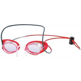 vermelho / transparente
