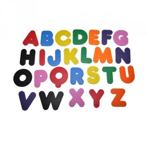 Brinquedo Alfabeto Que Flutuam.