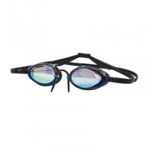 Óculos Hydroflow Mirror Preto Espelhado Azul.