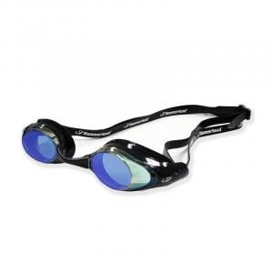 Óculos Racer Pro Mirror Preto Espelhado Azul.