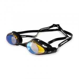 Óculos Racer Pro Mirror Preto Espelhado Ambar.