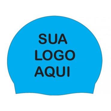 Touca Personalizada De Silicone Pro Swim.
