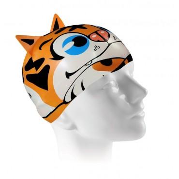 Touca Silicone Tiger Cap.